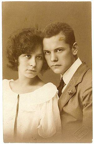 Etelkával 1923-ban/Wikimedia